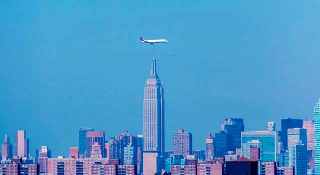 It is the third largest airport serving New York City.